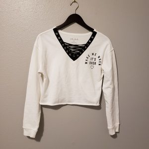 AWAKE | Crop Sweater- S